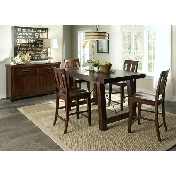 Loon Peak Haloke Counter Height Extendable Dining Table U0026 Reviews | Wayfair