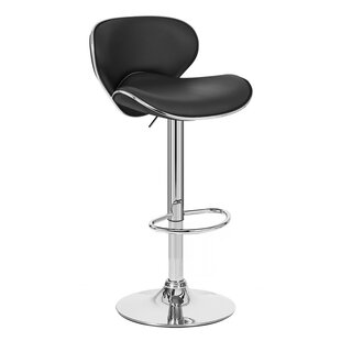 Kappa Adjustable Height Swivel Bar Stool ..