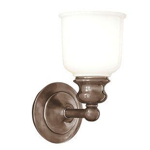 Gracie Oaks Mindy 1-Light Bath Sconce