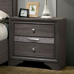 Stjean 3 Drawer Nightstand by House of Hampton