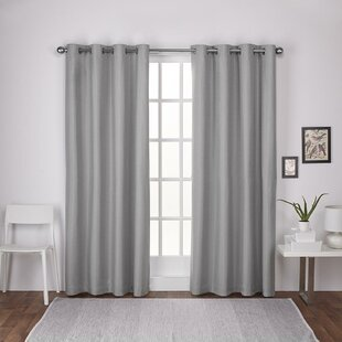 curtains curtain width set theme panels grommet top closeup of swirl catalina jacquard gray garden leaf