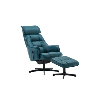 Ahmarion Auckland Manual Recliner With Footstool By 17 Stories