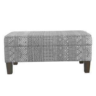 Ned Upholstered Storage Bench by Bungalow Rose