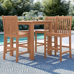 Brighton Teak 5 Piece Dining Set by Sol 72 Outdoor Reviews