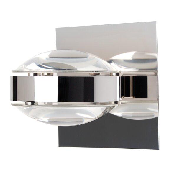 Wall Sconces Next To Tv: Besa Lighting Optos 1-Light Wall Sconce