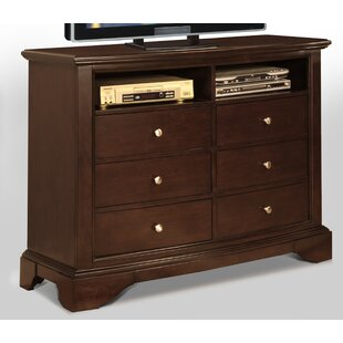 Zelma 6 Drawer Media Chest
