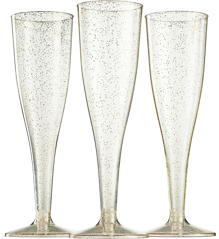 Munfix Heavy Weight Plastic Disposable Champagne Flute Wayfair