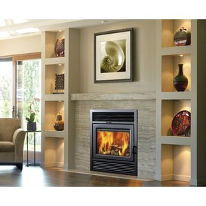 Galaxy Zero Clearance Semi-Classic Wall Mount Fireplace Insert by Supreme Fireplaces Inc.