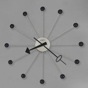 . Modern Wall Clocks You ll Love in 2019   Wayfair