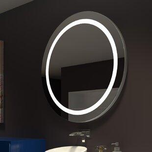 Brayden Studio Ehrhart Illuminated Bathroom/Vanity Mirror