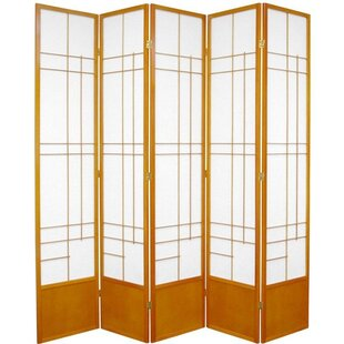 Clara Shoji Room Divider by World Menagerie