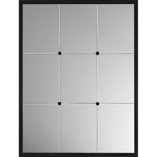 Paragon Windowpane Reflections Contemporary Wall Mirror