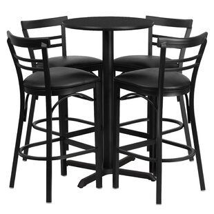Excellent Brodeslavy 5 Piece Pub Table Set Onthecornerstone Fun Painted Chair Ideas Images Onthecornerstoneorg