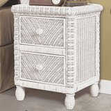 Alicia 2 Drawer Nightstand by Bay Isle Home