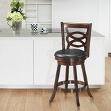 Coutee Swivel 24 Counter Stool by Canora Grey