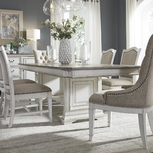 Ophelia & Co. Jersey Trestle Extendable 7 Piece Dining Set