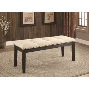 Hazel Wood and Upholstered Bench by Red B..