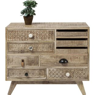 Buy clear Adrianne 9 Drawer Accent Chest By Mistana