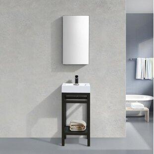 Hammonton Console 16 Single Bathroom Vanity Set By Wade Logan