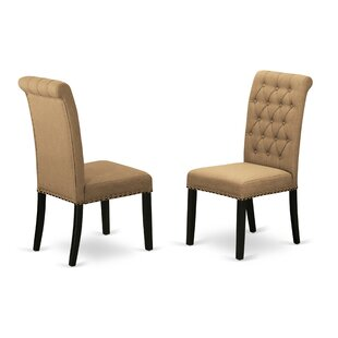 Dancy Upholstered Dining Chair (Set of 2) Charlton Home