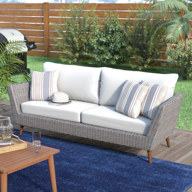 Langley Street Newbury Patio Sofa With