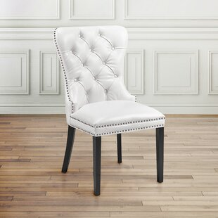 Aston Diamond Tufted Head Trim Dining Chair