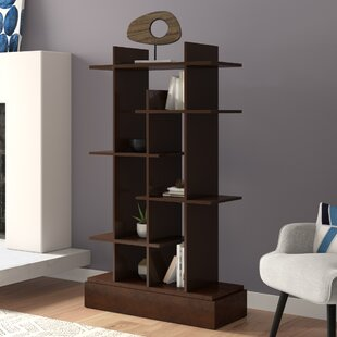 Meansville Skyline Geometric Bookcase