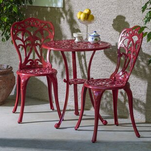 Bain 3 Piece Bistro Set by Alcott Hill