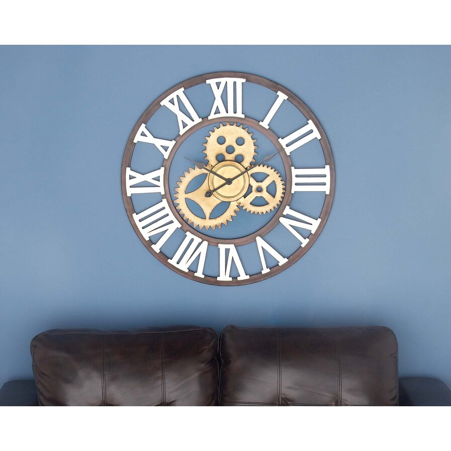 wall oversized clocks wayfair