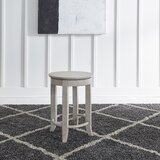Daughtrey 24 Swivel Bar Stool by Ophelia & Co.