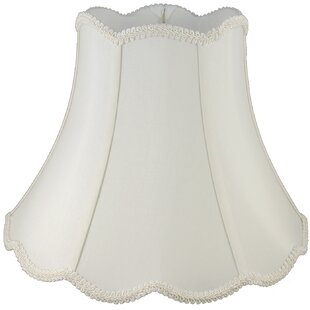 12 Faux Silk Bell Lamp Shade