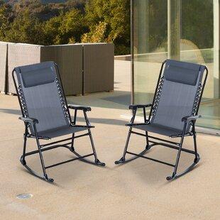 Dorantes Patio Rocking Chair by Latitude Run
