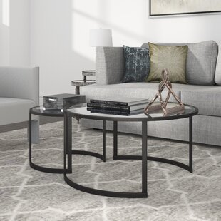 Mitera 2 Piece Coffee Table Set by Hudson&Canal