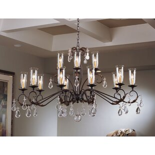 2nd Ave Design Windsor 14-Light Shaded Chandelier