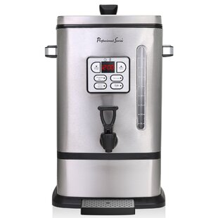 50-Cup Pro Digital Coffee Urn Stainless Steel Coffee Maker
