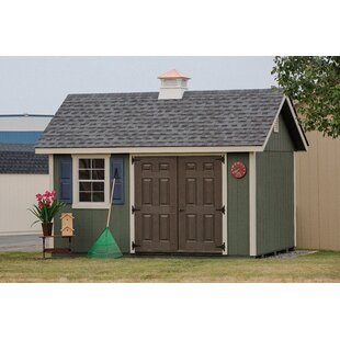 Fairmont 14 Ft. W X 10 Ft. D Wooden Storage Shed By YardCraft