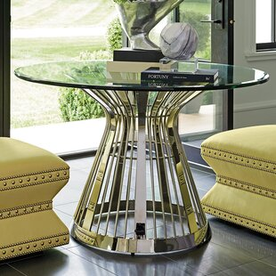 Lexington Ariana Riviera Glass Top Dining Table