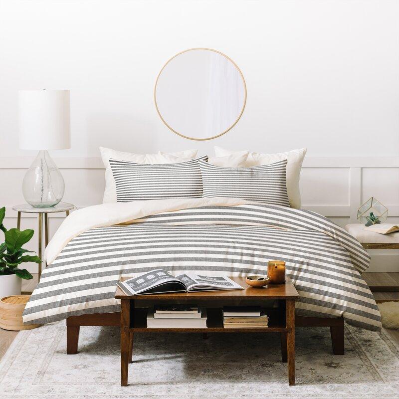 Little Arrow Design Co Stripes Duvet Cover Set