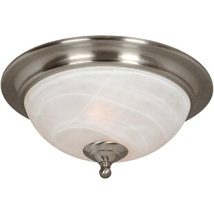 Top Reviews Saturn 2-Light Flush Mount By Hardware House
