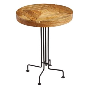 Cameron Slatted End Table by Loon Peak