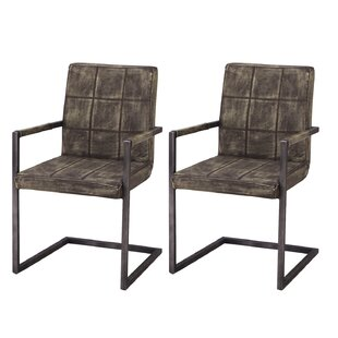 Inexpensive Alula Luxury Upholstered Dining Chair (Set of 2) by Orren Ellis Reviews (2019) & Buyer's Guide