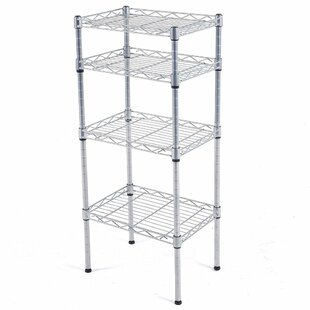Rebrilliant Catalina 4-Tier Wire Shelved Steel Baker's Rack
