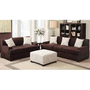 Janine 3 Piece Living Room Set by A&J Homes Studio
