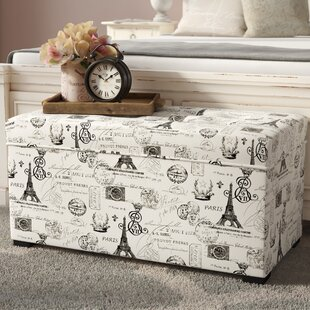 Lark Manor Pavot Upholstered Storage Bench