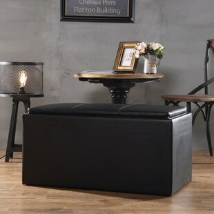 Ebern Designs Adena Upholstered Storage B..