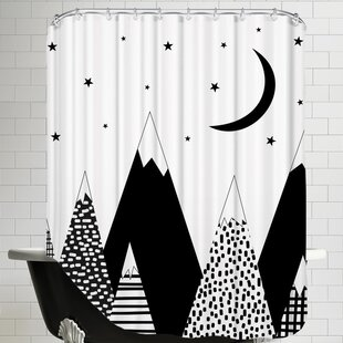 Mountain Single Shower Curtain