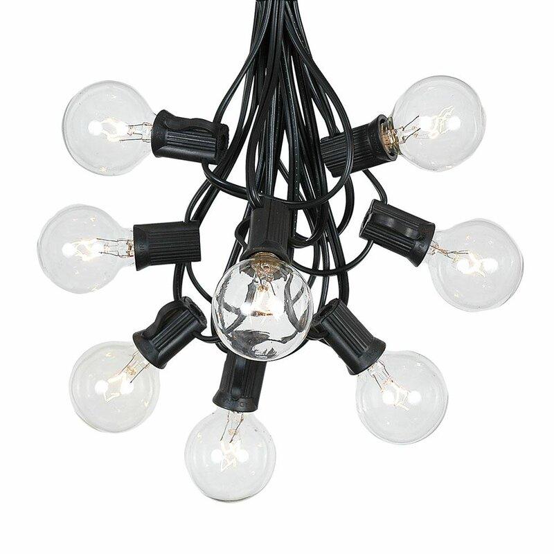 Cosimo Outdoor Patio Globe String Lights
