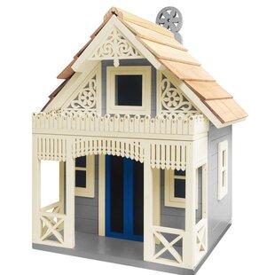 Home Bazaar Angel Cottage 6 in x 8 in x 9 in Birdhouse