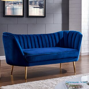 Shop Koger Chesterfield Loveseat by Everly Quinn