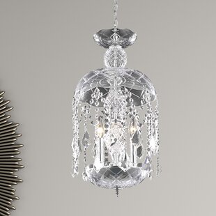 Living District Azalea 3-Light Crystal Pendant